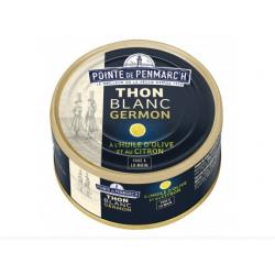 Thon Blanc Germon à l'Huile d'Olive et au Citron