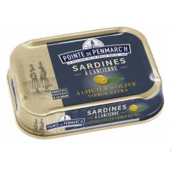 Conserves de Sardines à l'Huile d'Olive