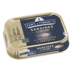 Conserves de Sardines aux échalotes de Bretagne