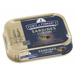 Conserves de Sardines au Tartare d'Algues