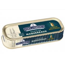 Filets de Maquereaux Marinés Deux Moutardes