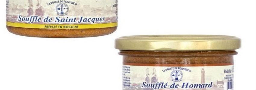 Soufflés Homard St Jacques | Pointe de Penmarch